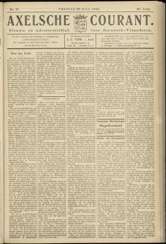 Axelsche Courant 1926-07-23