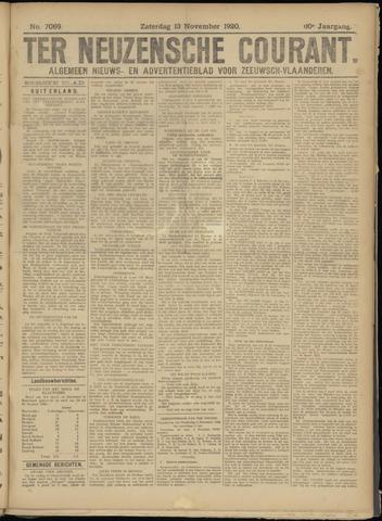 Ter Neuzensche Courant. Algemeen Nieuws- en Advertentieblad voor Zeeuwsch-Vlaanderen / Neuzensche Courant ... (idem) / (Algemeen) nieuws en advertentieblad voor Zeeuwsch-Vlaanderen 1920-11-13