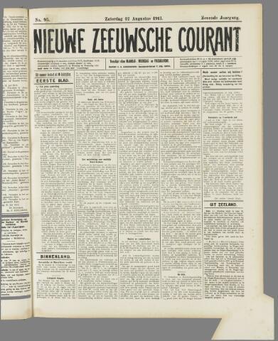 Nieuwe Zeeuwsche Courant 1911-08-12