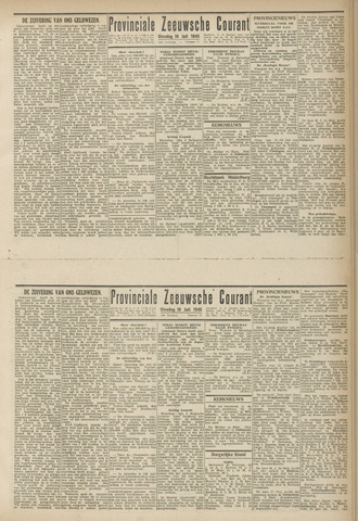 Provinciale Zeeuwse Courant 1945-07-10