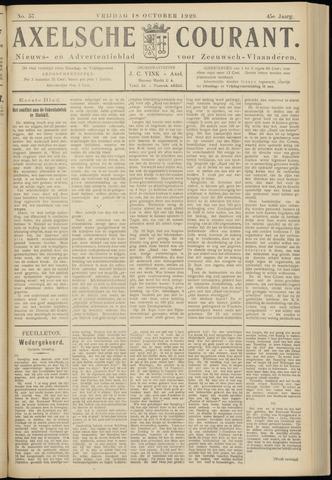 Axelsche Courant 1929-10-18