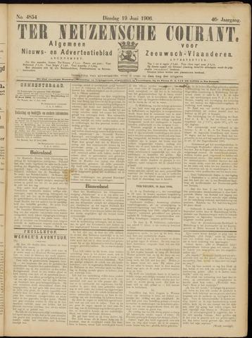 Ter Neuzensche Courant. Algemeen Nieuws- en Advertentieblad voor Zeeuwsch-Vlaanderen / Neuzensche Courant ... (idem) / (Algemeen) nieuws en advertentieblad voor Zeeuwsch-Vlaanderen 1906-06-19