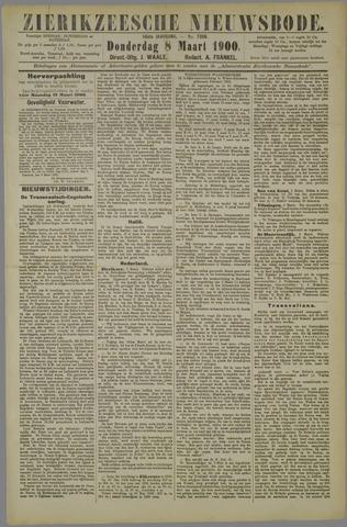 Zierikzeesche Nieuwsbode 1900-03-08