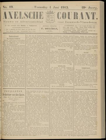 Axelsche Courant 1913-06-04