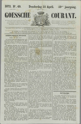 Goessche Courant 1872-04-25