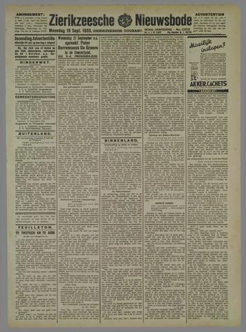 Zierikzeesche Nieuwsbode 1933-09-18