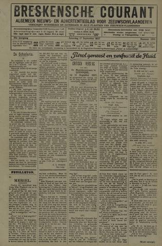 Breskensche Courant 1927-09-17