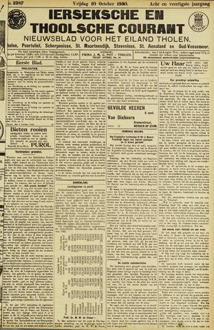 Ierseksche en Thoolsche Courant 1930-10-10