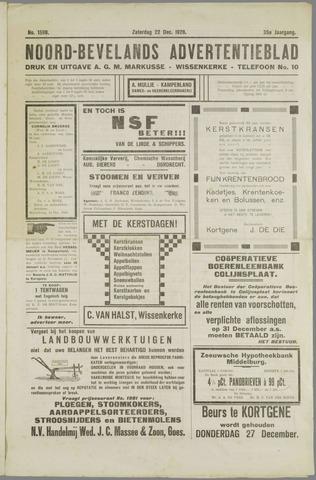 Noord-Bevelands Nieuws- en advertentieblad 1928-12-22