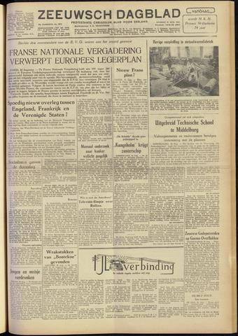 Zeeuwsch Dagblad 1954-08-31