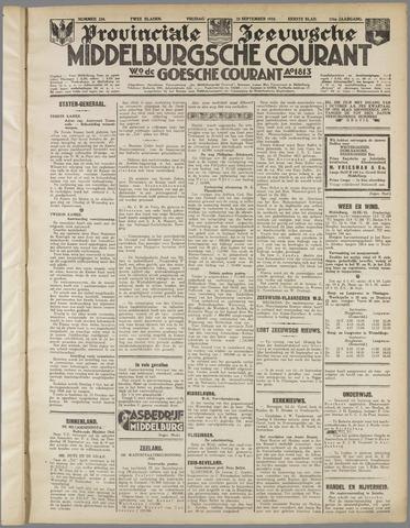 Middelburgsche Courant 1933-09-22