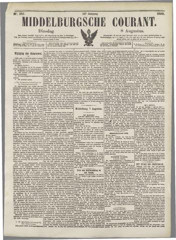Middelburgsche Courant 1899-08-08