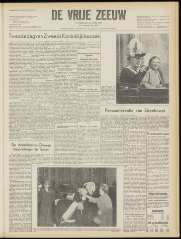 de Vrije Zeeuw 1955-04-28