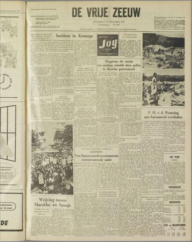 de Vrije Zeeuw 1962-09-13