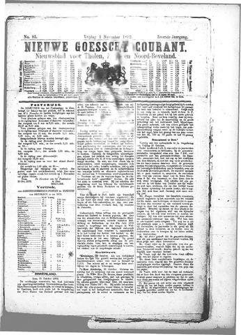 Nieuwe Goessche Courant 1872-11-01