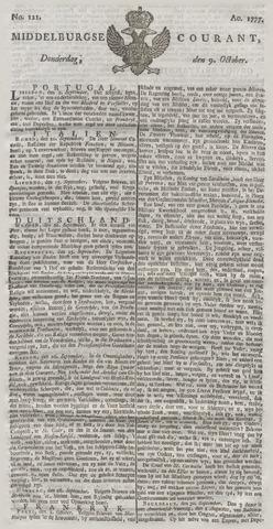 Middelburgsche Courant 1777-10-09