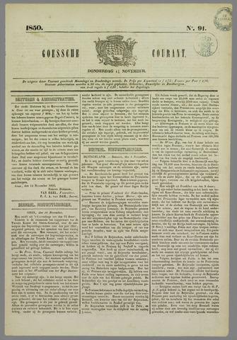 Goessche Courant 1850-11-14