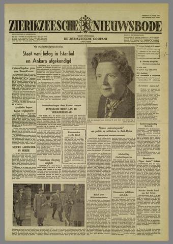Zierikzeesche Nieuwsbode 1960-04-29