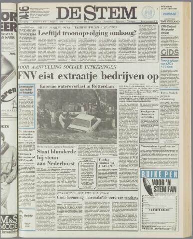 de Stem 1984-10-17