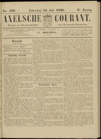 Axelsche Courant 1890-07-12