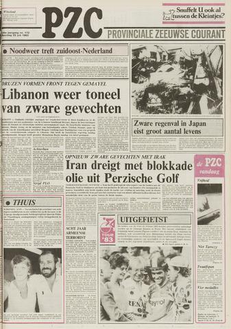 Provinciale Zeeuwse Courant 1983-07-25