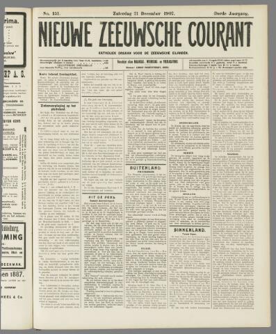 Nieuwe Zeeuwsche Courant 1907-12-21
