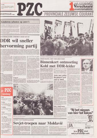 Provinciale Zeeuwse Courant 1989-11-13