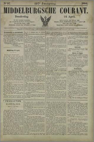 Middelburgsche Courant 1884-04-24