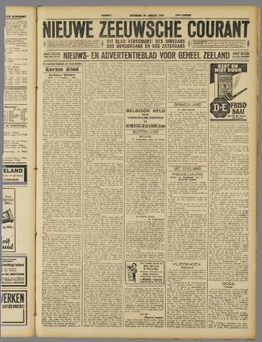 Nieuwe Zeeuwsche Courant 1929-01-26