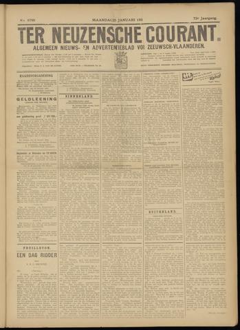 Ter Neuzensche Courant. Algemeen Nieuws- en Advertentieblad voor Zeeuwsch-Vlaanderen / Neuzensche Courant ... (idem) / (Algemeen) nieuws en advertentieblad voor Zeeuwsch-Vlaanderen 1932-01-25