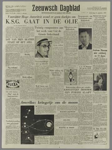 Zeeuwsch Dagblad 1959-09-24