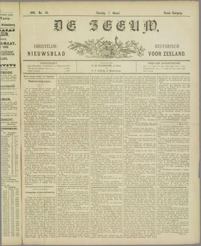 De Zeeuw. Christelijk-historisch nieuwsblad voor Zeeland 1896-03-07