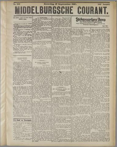 Middelburgsche Courant 1921-09-17