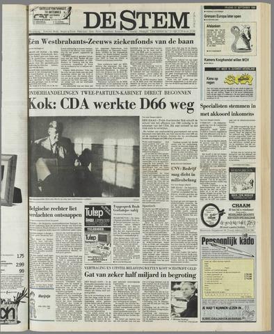 de Stem 1989-09-22