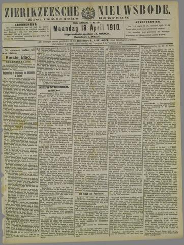 Zierikzeesche Nieuwsbode 1910-04-18