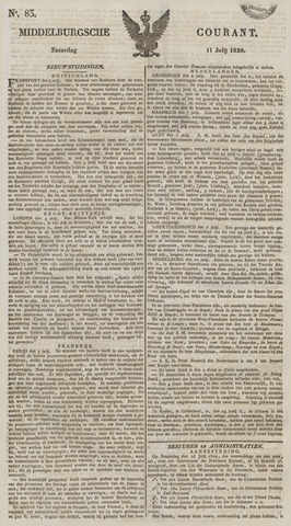 Middelburgsche Courant 1829-07-11