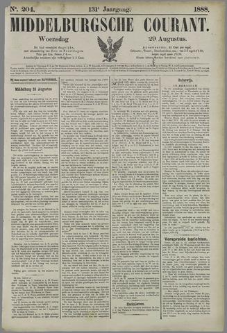 Middelburgsche Courant 1888-08-29