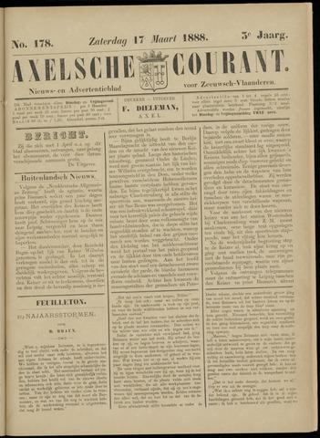 Axelsche Courant 1888-03-17