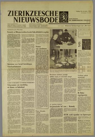 Zierikzeesche Nieuwsbode 1962-11-30