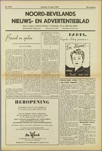 Noord-Bevelands Nieuws- en advertentieblad 1955-03-12