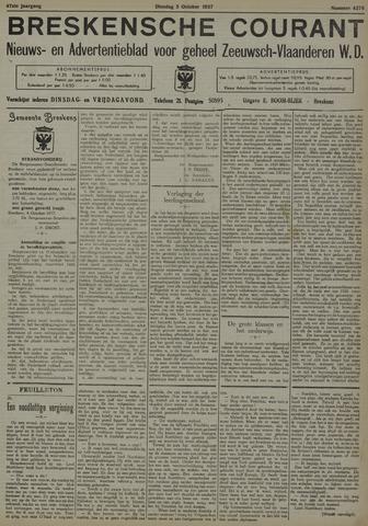 Breskensche Courant 1937-10-05