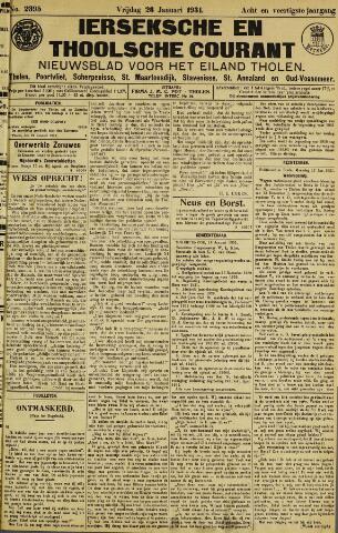 Ierseksche en Thoolsche Courant 1931-01-23