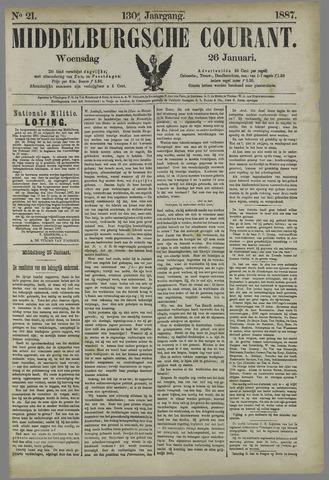 Middelburgsche Courant 1887-01-26