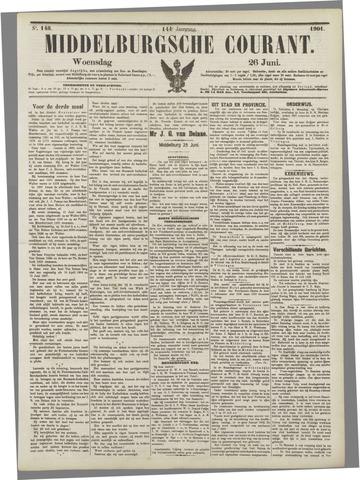 Middelburgsche Courant 1901-06-26