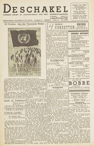 De Schakel 1954-10-29