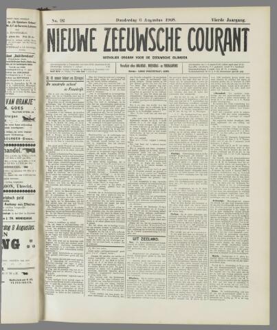 Nieuwe Zeeuwsche Courant 1908-08-06