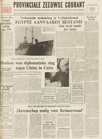 Provinciale Zeeuwse Courant 1967-06-09