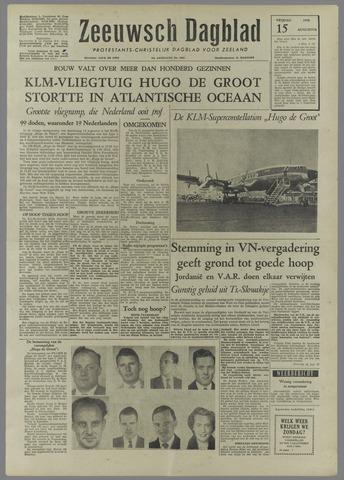 Zeeuwsch Dagblad 1958-08-15