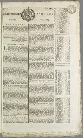 Zierikzeesche Courant 1814-05-24
