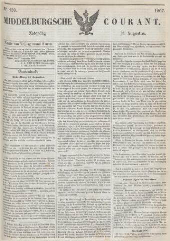 Middelburgsche Courant 1867-08-31